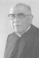 Leo Kerssemakers als pastoor in Tilburg, ca 1970.