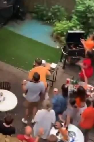 De grapjassen van het EK: Oranje-fans nemen op hilarische wijze hun buren te grazen