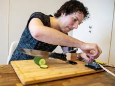 Tim (28) bedacht een bijzonder koksmes, maar weet ook wel dat hij er niks mee gaat verdienen
