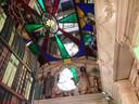 Interieur van het museumdeel van het Momument van Riel in Heukelom