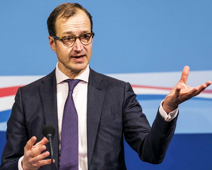Minister Eric Wiebes van Economische Zaken en Klimaat