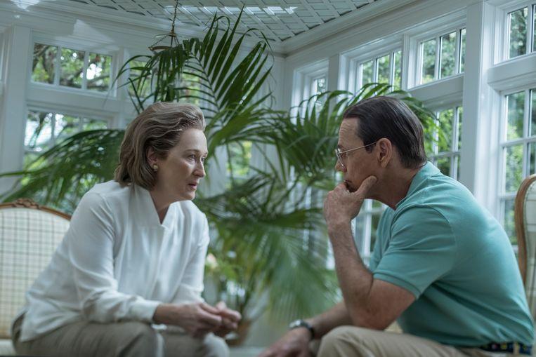 Meryl Streep speelt Katharine Graham, uitgeefster van 'The Washington Post'.  Beeld Niko Tavernise