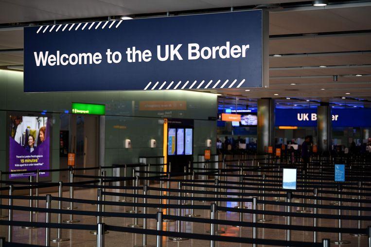 Heathrow Airport in Londen. Beeld AFP