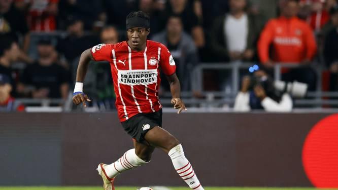 Madueke herstelt tijdens interlandperiode in Eindhoven en richt zich met PSV op PEC-thuis