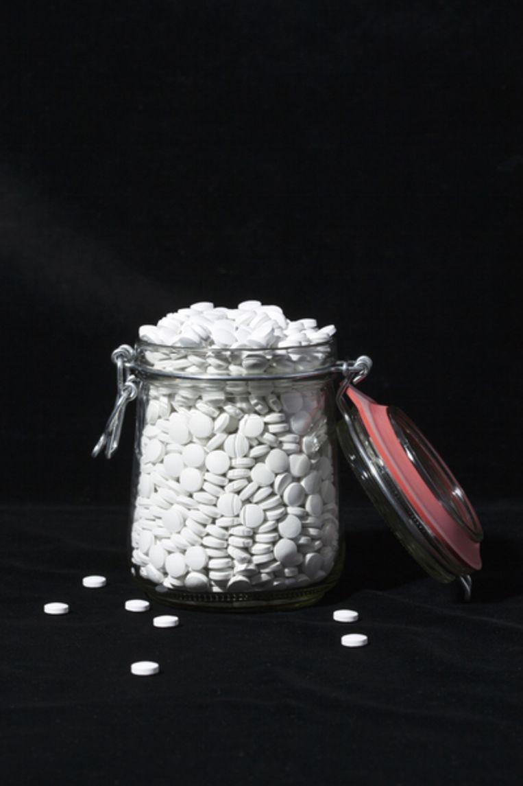 Ook na een amandeloperatie kun je de zware en verslavende pijnstiller oxycodon voorgeschreven krijgen. Beeld Krista van der Niet