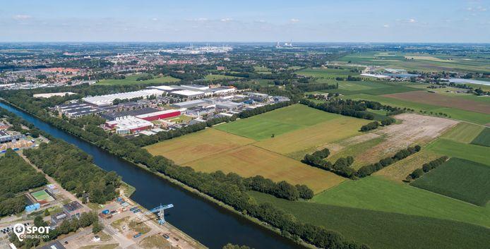 Everdenberg-Oost in Oosterhout van bovenaf.