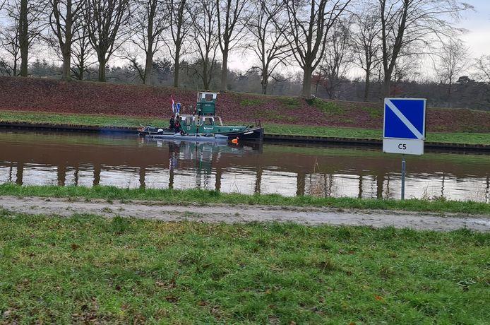 JFD Ortega voerde op donderdag een test uit op het Twentekanaal