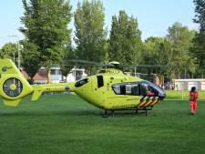 Traumahelikopter landt op speelveld in Tilburg, avondvierdaagse omgeleid