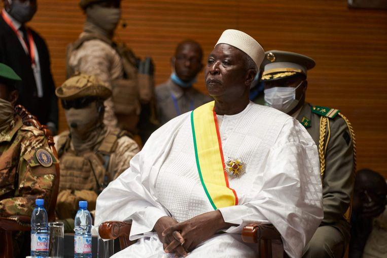 Overgangspresident van Mali Bah Ndaw. Beeld AFP
