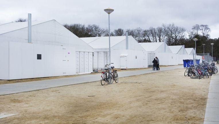 Opvanglocatie Heumensoord bij Nijmegen Beeld anp