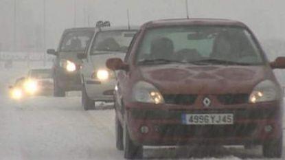 Nu al druk op wegen richting Franse skigebieden