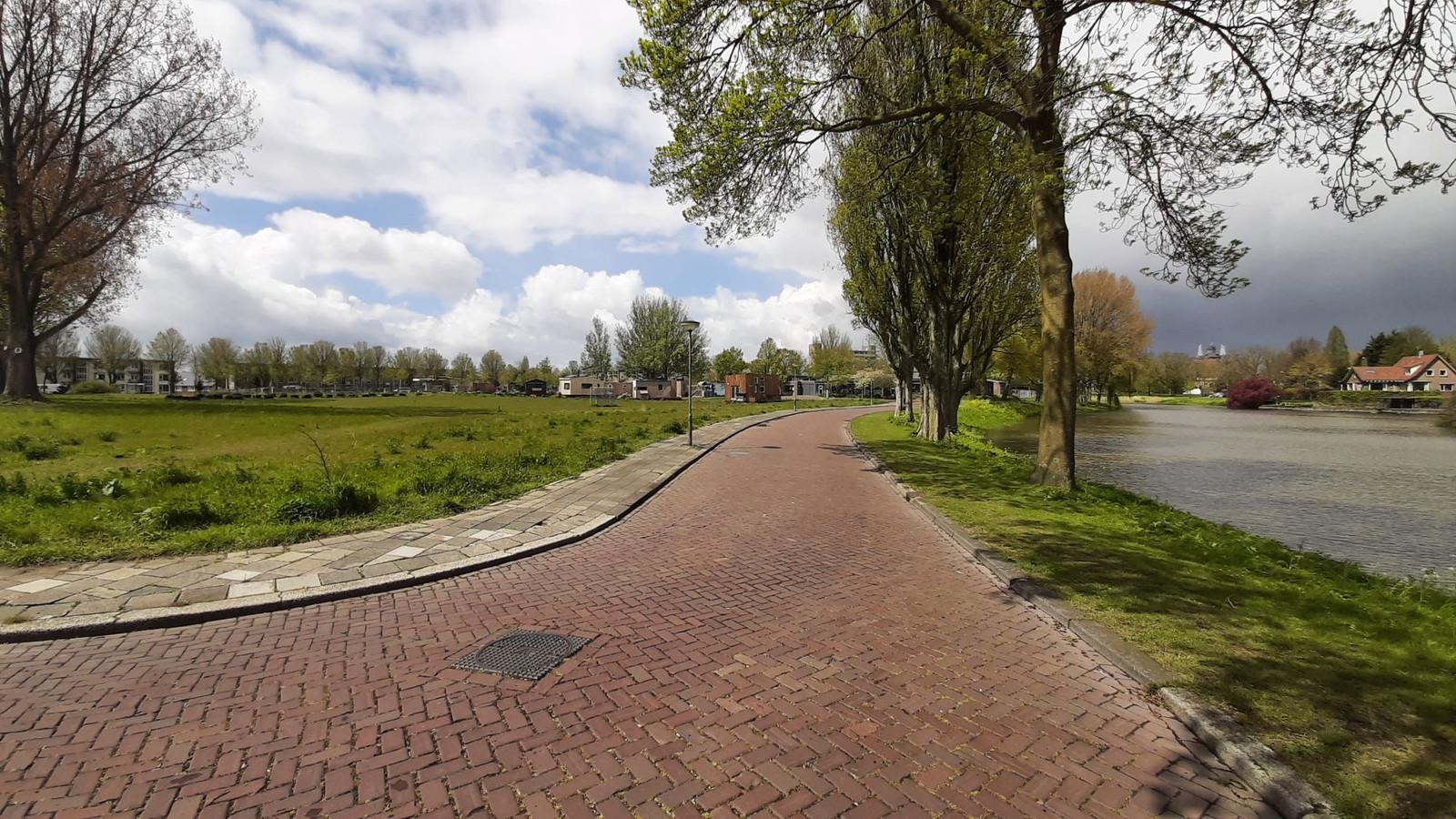 De toekomstige wijk Vlijweide in Dordrecht.