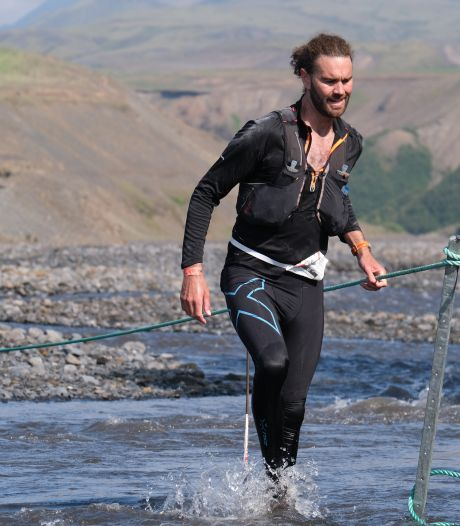 Enschedeër Steve loopt ultramarathon in IJsland: 'Rutbeek was achteraf te vlak voor de trainingen'