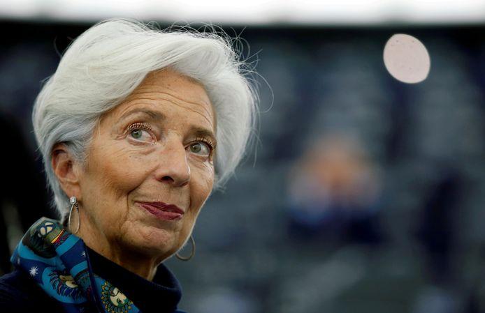 Christine Lagarde.