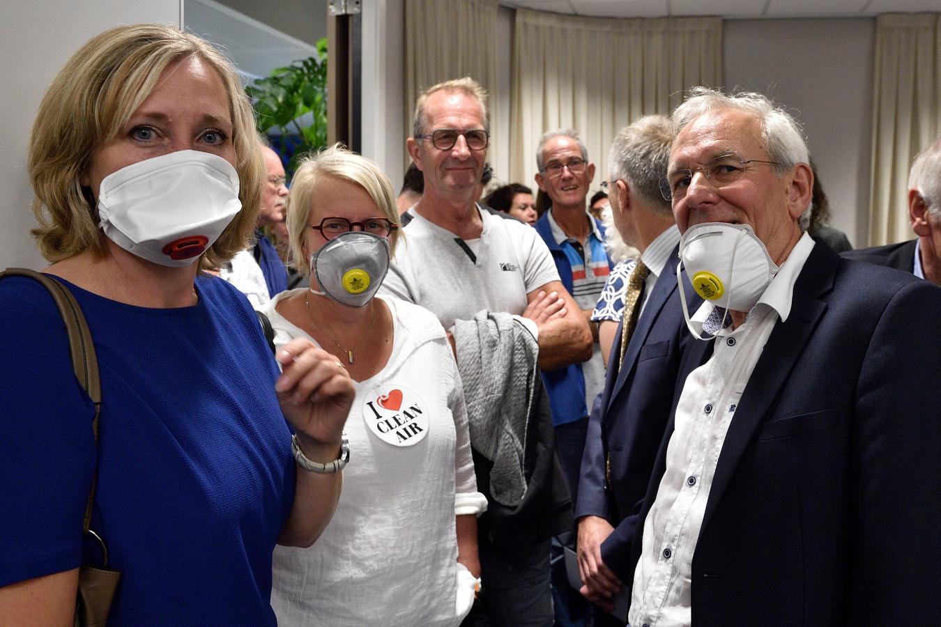 In Waddinxveen wordt al jaren geprotesteerd tegen de bouw van biomassacentrales.