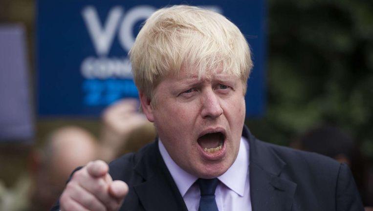 Boris Johnson Beeld BELGA
