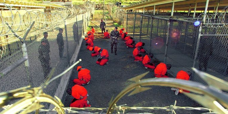 De Amerikaanse gevangenis op Guantanamo Beeld UNKNOWN