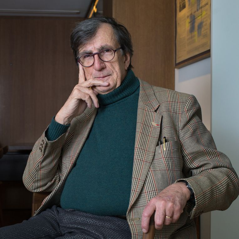 Bruno Latour , socioloog en filosoof in 2018.  Beeld Maartje Geels