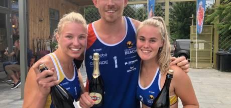 Twents beachvolleybalsucces in Tilburg
