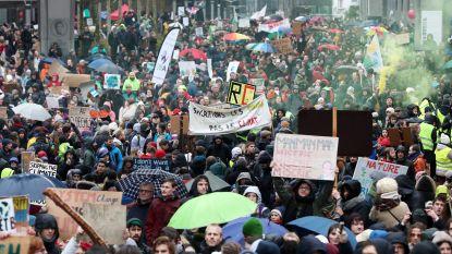 België koning van klimaatprotest