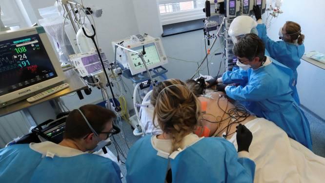 OVERZICHT. Gemiddeld weer meer dan honderd ziekenhuisopnames en meer dan 4.000 besmettingen per dag