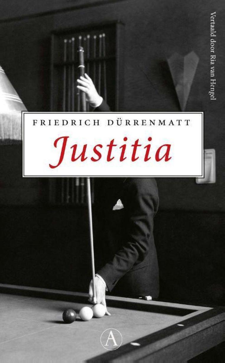 Friedrich Dürrenmatt: Justitia. Beeld Athenaeum-Polak & Van Gennep