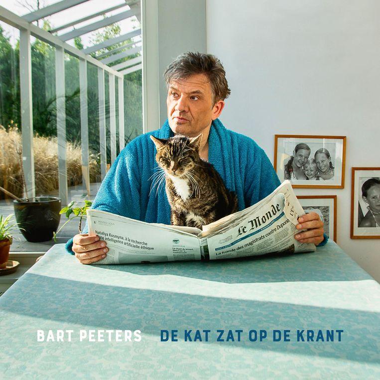'De kat zat op de krant' van Bart Peeters verschijnt op 1 oktober bij Simpletone. Beeld Johan Jacobs
