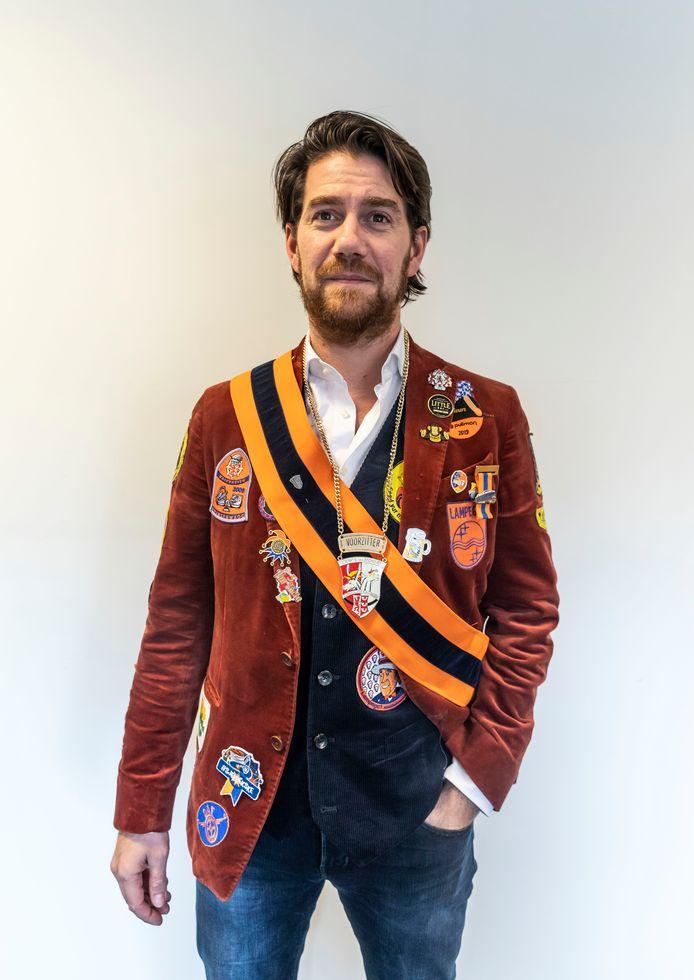 Ivo Soetens is de nieuwe voorzitter van de Stichting Federatie Eindhovens Carnaval (SFEC).