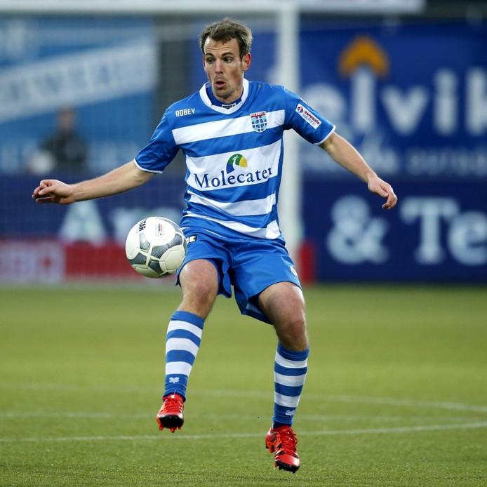 Wout Brama in het shirt van Zwolle