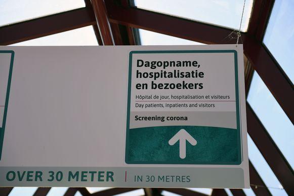 UZ Leuven neemt geen enkel risico en voert strengere maatregelen in voor bezoekers en begeleiders van patiënten.