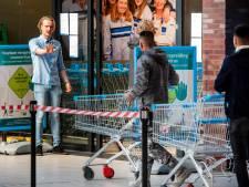 Supermarkten in Arnhem en omgeving zijn streng: alleen met kar of mandje naar binnen