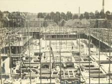 De bouw van De Inktpot in 1918 was een buitenaardse prestatie, vandaar die vliegende schotel