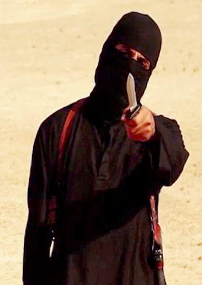 Jihadi John Beeld afp