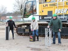 Bouw is van start: drie nieuwe flats in Bloemenoord Waalwijk