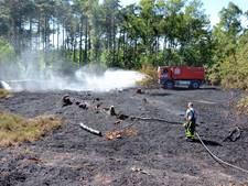 Brand bij 't Appeltje in Bergen op Zoom