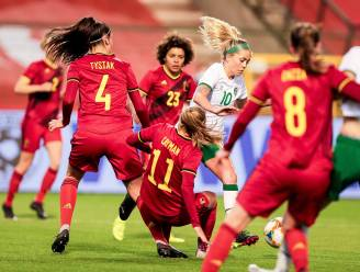 Tine De Caigny ontvangt Gouden Schoen en schiet Red Flames na stroeve match naar nipte zege tegen Ierland