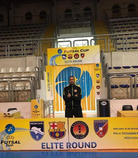 Benhammou en 't Knooppunt uitgeschakeld in Uefa Futsal Cup