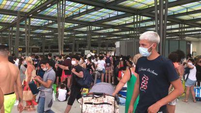 NMBS neemt maatregelen na chaotische uittocht in Oostende, maar Tommelein blijft pleiten voor reservatiesysteem