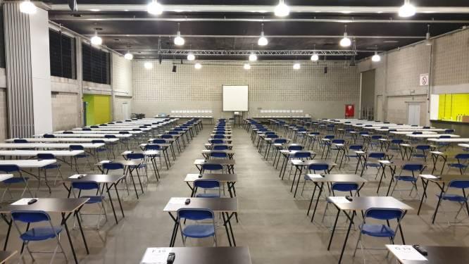 Fuifzaal De Qubus wordt twee weken examencentrum voor GO! Atheneum Oudenaarde