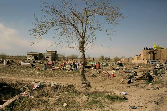 De Syrische stad Baghouz werd vanmorgen volledig bevrijd van IS-strijders.