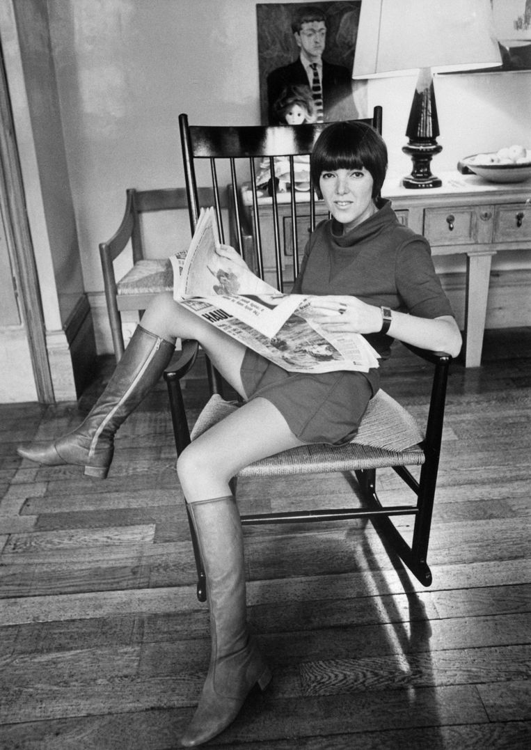 Mary Quant Beeld Getty