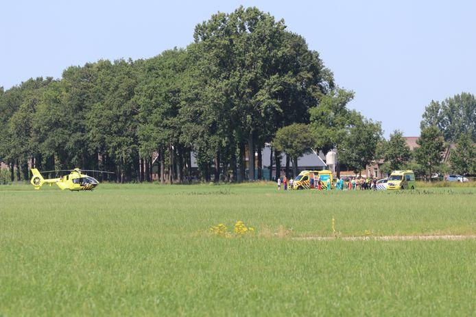 Een leerling-parachutist is in Teuge dinsdag om het leven gekomen.