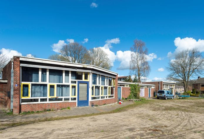 De voormalige kleuterschool Ibbeltje aan De Tippe in Epe.