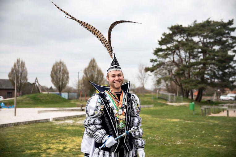 Prins Carnaval Geert Hendrix.