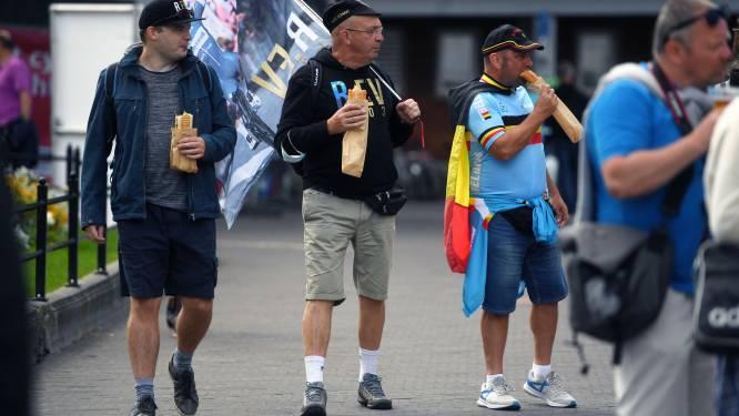 FOTOREPORTAGE: dit was dag één van het WK Wielrennen in Leuven