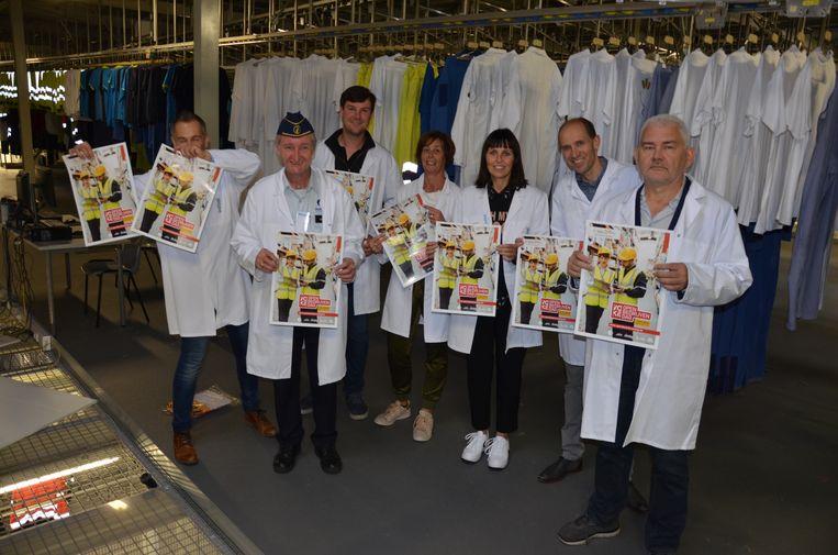 Bij Initial in de Moortelstraat kan je kennismaken met een industriële wasserij voor 10.000 klanten.