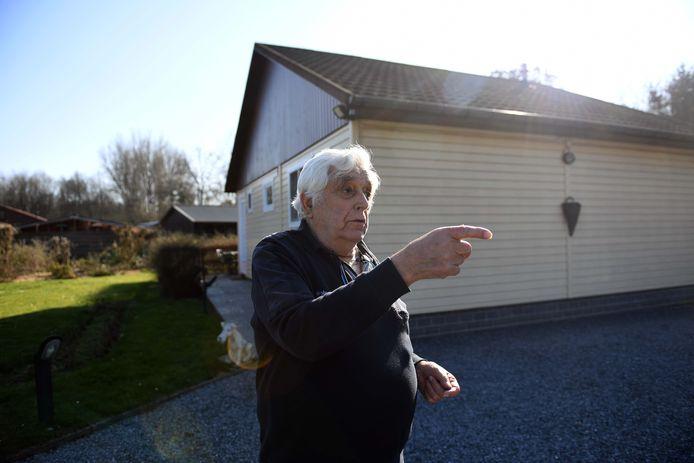 Buurtbewoner Jan Dierickx (84).