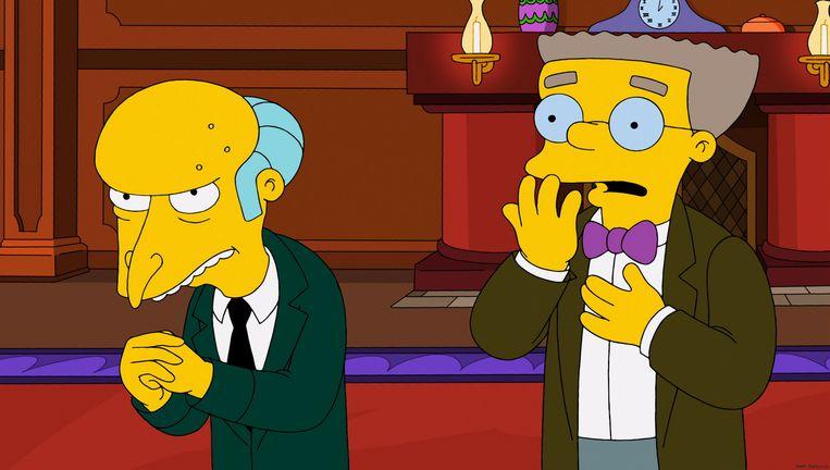 Mr Smithers Komt In Nieuwe Seizoen The Simpsons Eindelijk