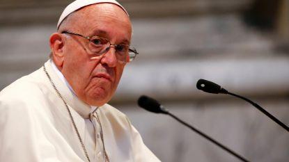 """Paus: """"Ontzeg homoseksuelen de toegang tot het seminarie"""""""