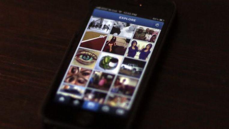 Instagram. Beeld REUTERS